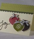 Ornamental Joy Christmas Card 1