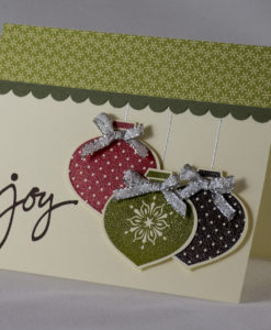 Ornamental Joy Christmas Card 1