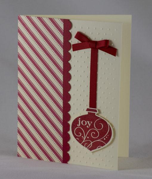 Ornamental Joy Christmas Card 4