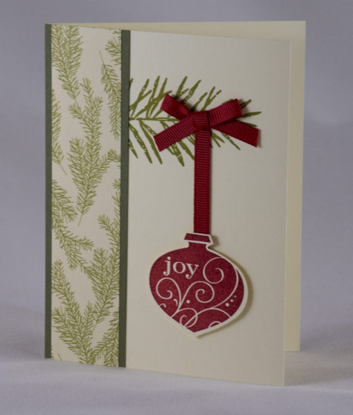 Ornamental Joy Christmas Card 3
