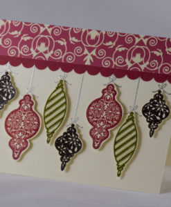 Ornamental Joy Christmas Card 2
