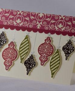 Ornamental Joy Christmas Card 2
