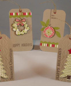 Christmas Present Tags (set of 4)